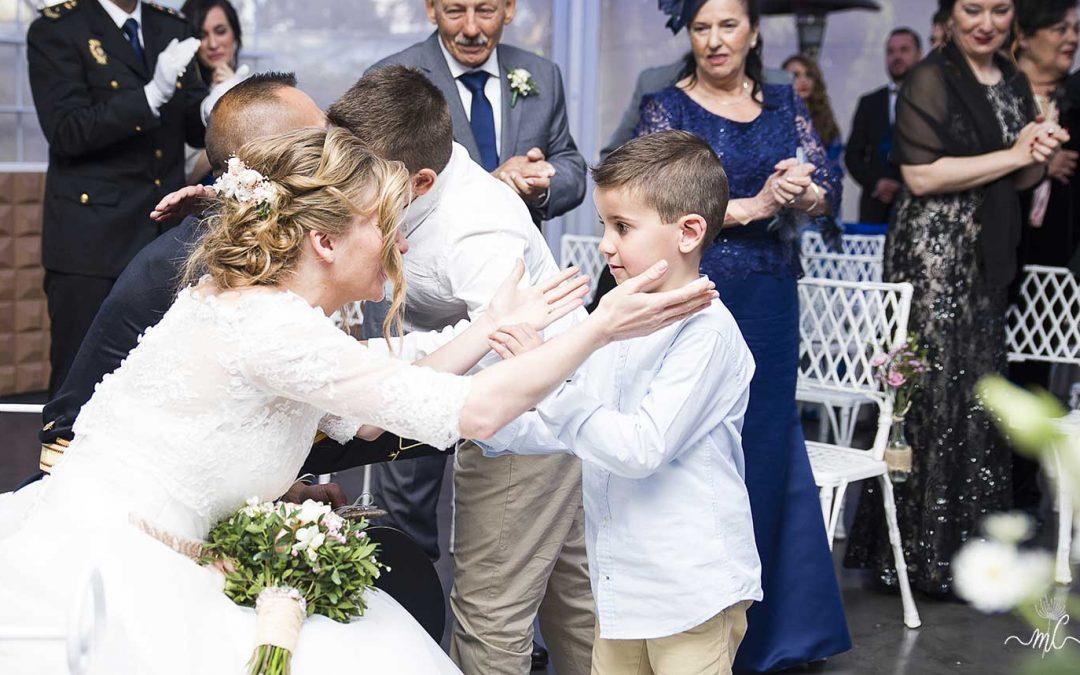 El papel de los pajes en la ceremonia civil